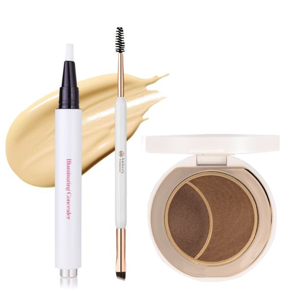 Soft Brows, Illuminating Concealer og Brow Tool